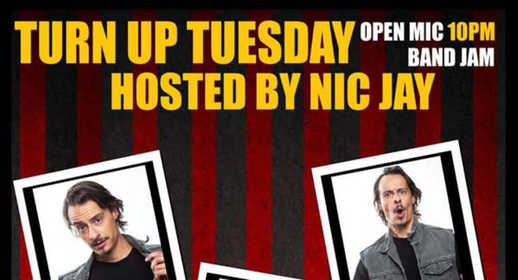 TURN UP TUESDAY - OPEN MIC BAND JAM