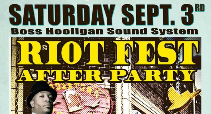 Boss Hooligan Sound System w/ Mark Maladjusted & DJ Tavo