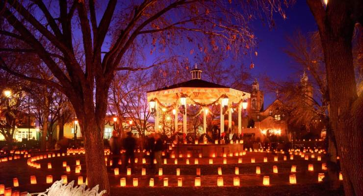 ABQ Trolley X: Christmas Eve Luminaria Tour