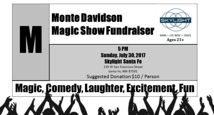 Monte Davidson Magic Show Fundraiser