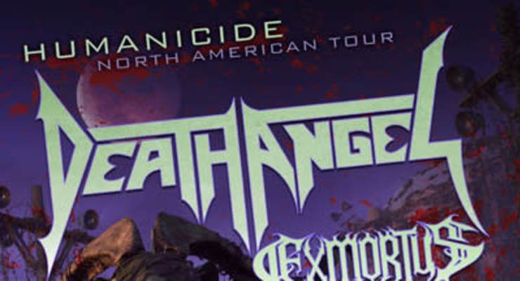 Death Angel - Humanicide Tour