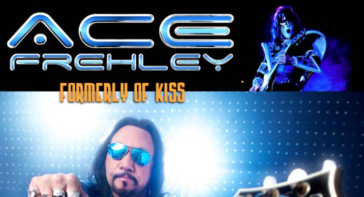 ACE FREHLEY (formerly of KISS)