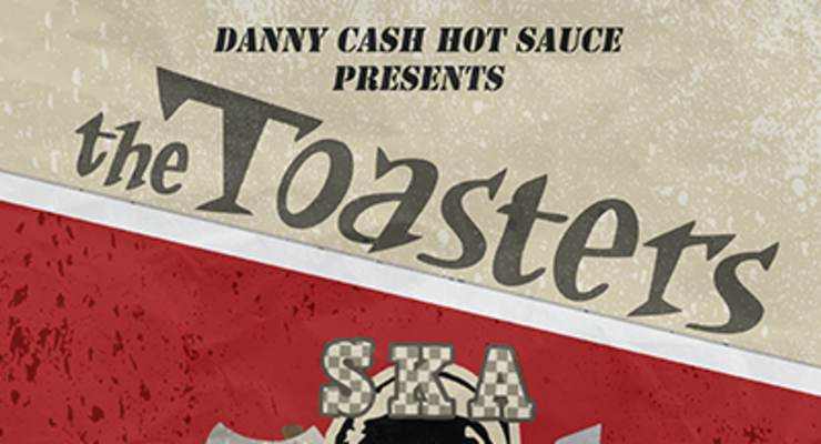 The Toasters * The Blue Hornets * Pawn Shop Poster Boys