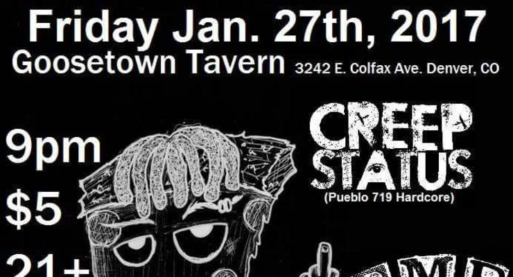 Creep Status (Pueblo)