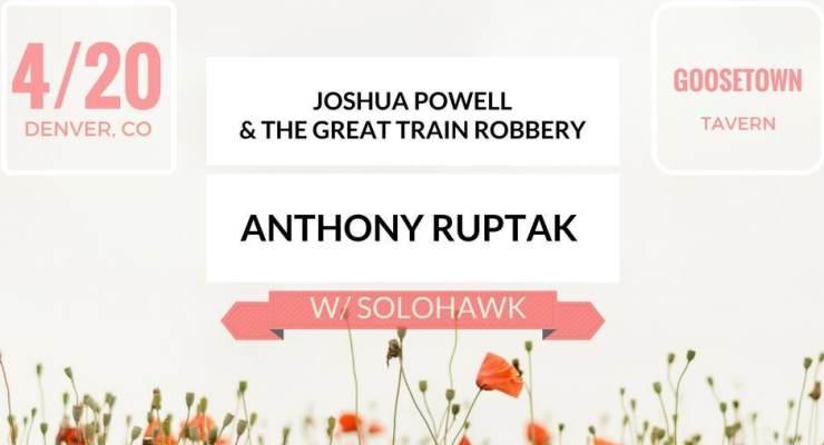 JOSHUA POWELL & THE GREAT TRAIN ROBBERY