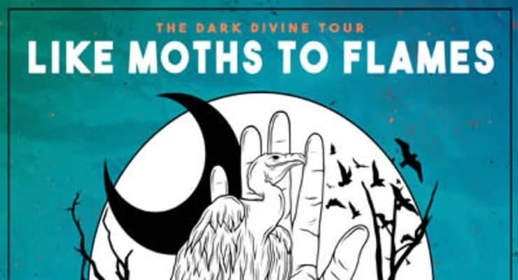 Like Moths To Flames * Oceans Ate Alaska * Phinehas * Novelists