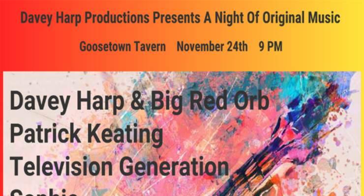 Davey Harp & BIG RED ORB