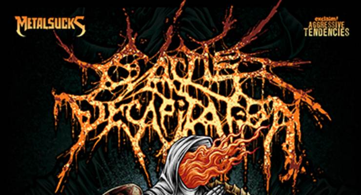 Cattle Decapitation * Revocation * Full of Hell * Artificial Brain