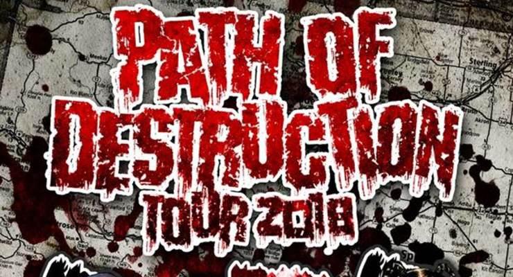"""Lex the Hex Master, AMB, Scum, """"Path of Destruction Tour 2018"""""""
