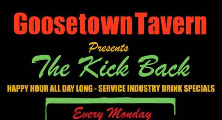 THE KICK BACK - WEEKLY PARTY - HIP-HOP/GROOVES/RANDOMNESS