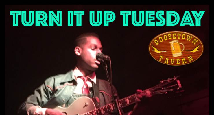 Turn It Up Tuesday - Open Mic Band Jam hosted by Nic Jay