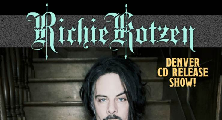 "Richie Kotzen ""Album Release Show""...for"