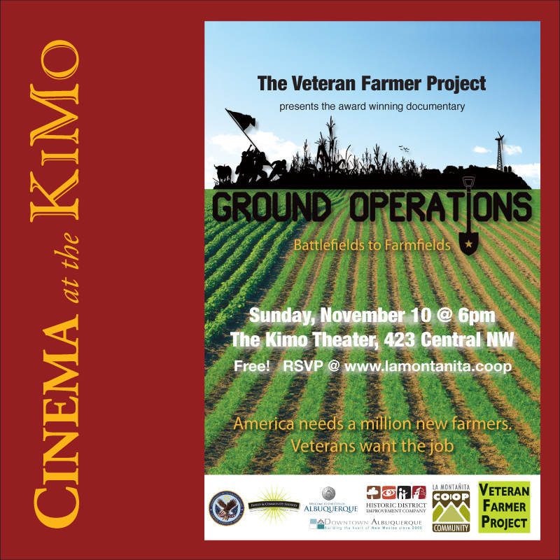 KiMo Theatre - Ground Operations: from Battlefield to Farmfield