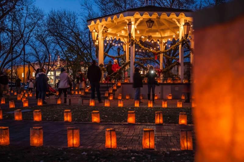 Abq Trolley X Christmas Eve Luminaria Tour Private