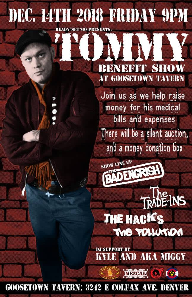 Tommy's Benefit Show - Donation and Silent Auction Bad