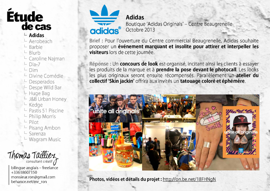 adidas beaugrenelle