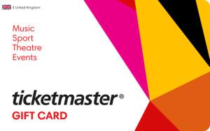 Ticketmaster digital gift card