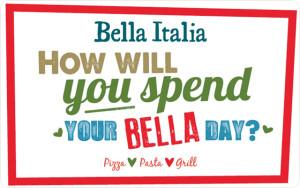 Bella Italia digital gift card