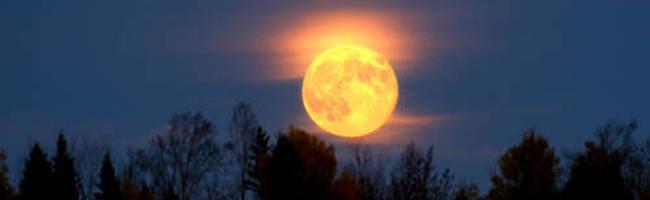 Fire Under A Harvest Moon