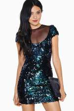 Nasty Gal - Dress The Population Annalyn Sequin Dress