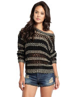 GUESS - Fiorenza Open Knit Sweater