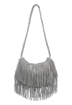 Jj Winters - Suede Fringe Bag