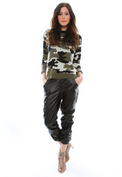 Generation Love - Jo Baggy Leather Pants