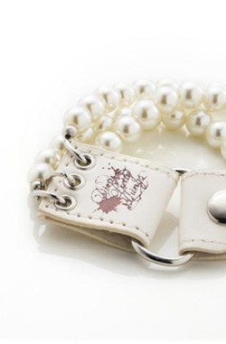 Dirty Pretty Things - Trinity Bracelet White Pearl