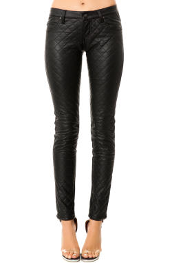 Tripp NYC - The Quilted Faux Leather Pants