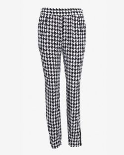 Exclusive for Intermix - Houndstooth Print Pants