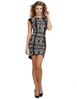 GUESS - Mirror Diamond Print Dress
