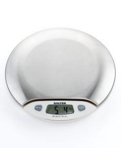 Martha Stewart - Collection Digital Kitchen Scale, Stainless Steel