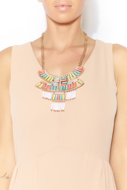 Coquette - Layer Bib Necklace