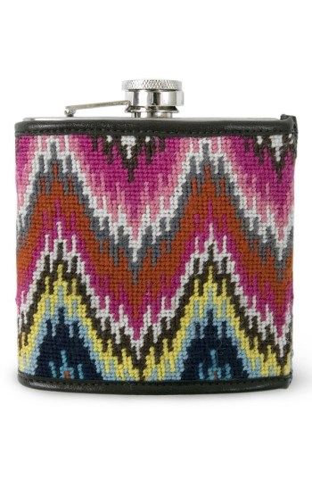 Jonathan Adler - Needlepoint Flask