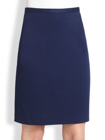 Saks Fifth Avenue Collection - Ponte Pencil Skirt