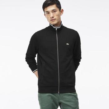 Lacoste - Full-Zip Piqué Sweatshirt