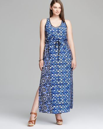 Michael Kors - MICHAELPlus Sleeveless Maxi Dress
