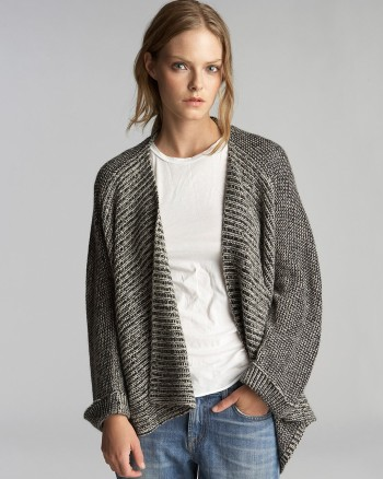 Bloomingdales - Velvet by Graham & Spencer Cardigan Sweater - Cocoon