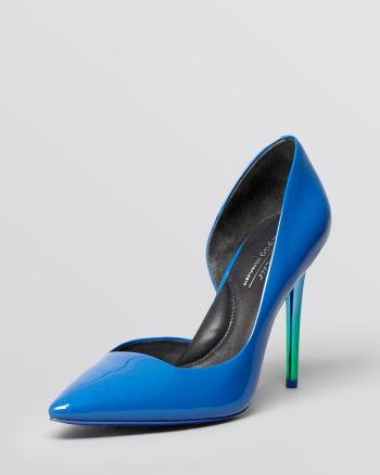Kenneth Cole - Pointed Toe D'Orsay Pumps - Willow High Heel
