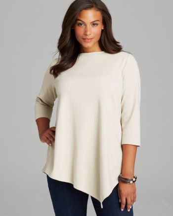 Joan Vass - Plus Asymmetric Tunic
