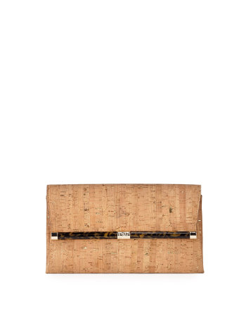 Diane Von Furstenberg - 440 Cork Envelope Clutch Bag
