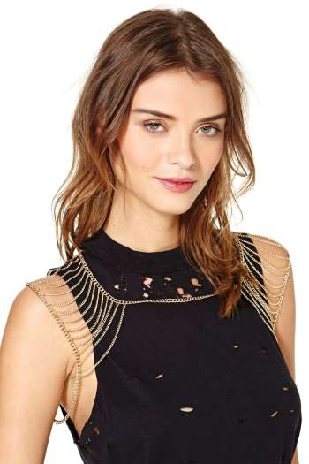 Nasty Gal - Sorena Shoulder Chain