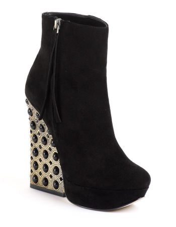Boutique 9 - Emlyn Embellished Suede Boots