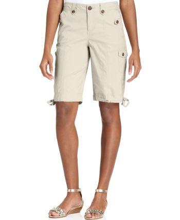Style&co. - Cargo Bermuda Shorts