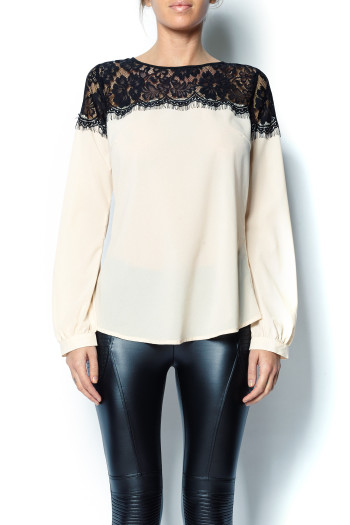 Pretty Edgy - Lace Top
