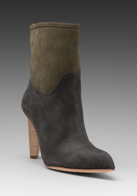Matt Bernson - Jameson Bootie in Nero/Moss