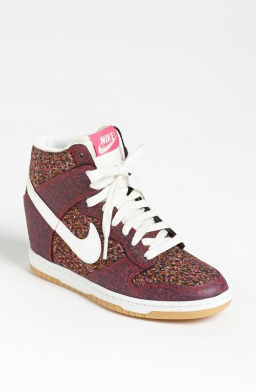 Nike - 'Dunk Sky Hi Liberty' Hidden Wedge Sneaker (Women)