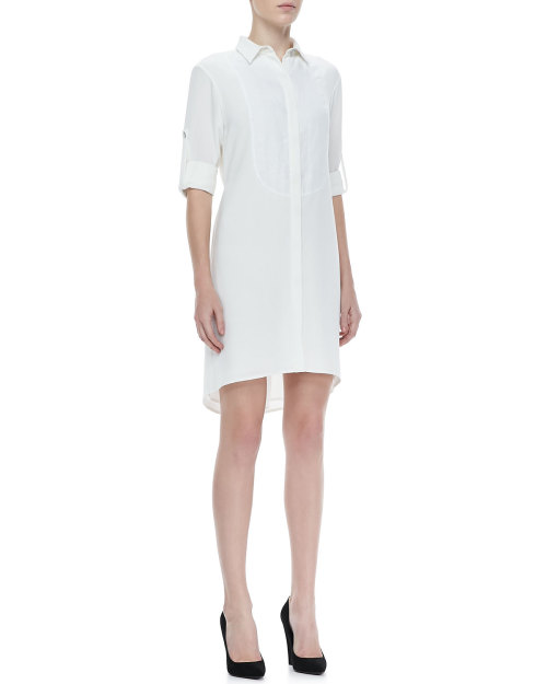 Rag & Bone - Prairie Tab-Sleeve Shirtdress