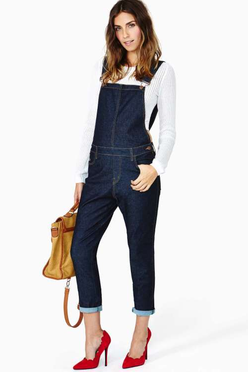 Nasty Gal - Roll With It Overalls