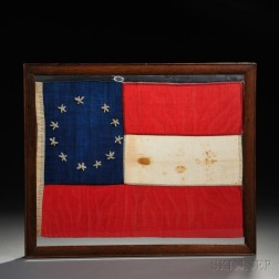 Small Eleven-star First National Confederate Flag